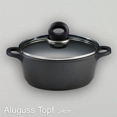 titanový hrnec MULEX 24 cm - 3,5litrů + víko