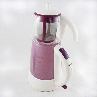 Mulex -tee expres kovnice na vodu i čaj růžová