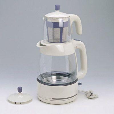 Mulex -tee expres kovnice na vodu i čaj bílá