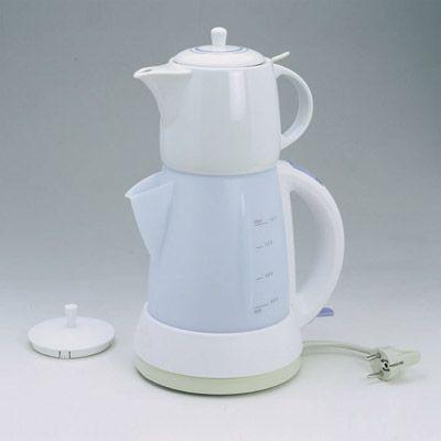 Mulex -tee expres kovnice na vodu i čaj bílomodrá