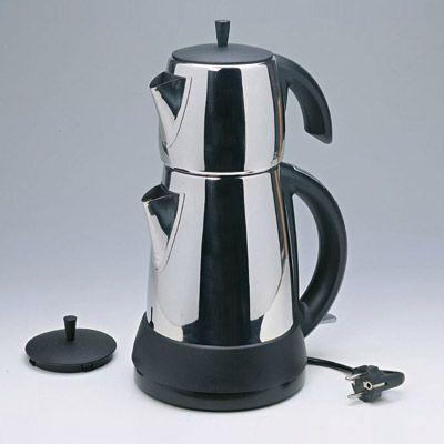 Mulex -tee expres kovnice na vodu i čaj nerez leštěný